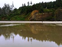 Cannon Beach, Oregon. Royalty Free Stock Images