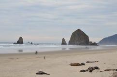 Cannon Beach in Oregon Stock Image