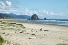 Cannon Beach in Oregon Stock Photo