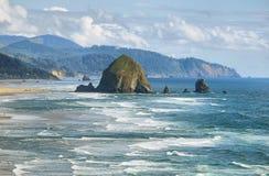 Cannon Beach in Oregon Royalty Free Stock Photos