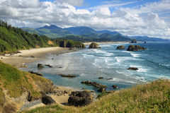 Cannon Beach in Oregon Royalty Free Stock Photo