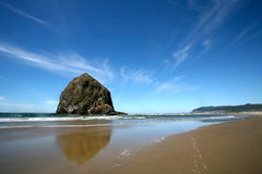 Cannon beach pacific coast Royalty Free Stock Photography