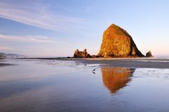 Cannon beach sunrise Royalty Free Stock Photography
