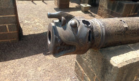 Cannon at Bijapur Karnataka. One of the heavy Cannon used in Bijapur during 16th century Mughal emperor Adilshaha Royalty Free Stock Image