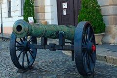 Cannon, Budapest, Hungary Stock Image
