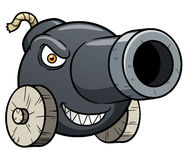 Cannon cartoon Stock Photography