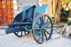 Cannon and Castello, Conegliano Veneto, Treviso, Italy Stock Photography
