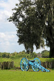 Cannon at Chalmette Battlefield Royalty Free Stock Photography