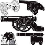 Cannon Collection Royalty Free Stock Image