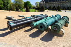 Cannon collection Royalty Free Stock Images