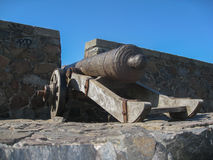 Cannon Colonia del Sacramento Uruguay Stock Photo