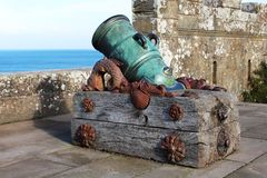 Cannon at Culzean Castle, South Ayrshire, Scotland Royalty Free Stock Images