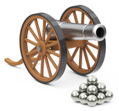 The cannon Royalty Free Stock Photo