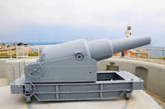Cannon at Europa Point Royalty Free Stock Photography