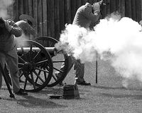 Cannon Fire Royalty Free Stock Images