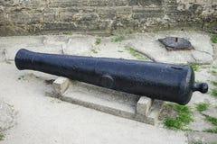 Cannon in Fort Castillo de San Marcos Stock Photos