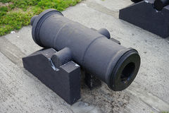 Cannon in Fort Castillo de San Marcos Stock Photos