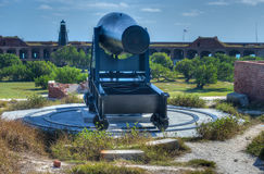 Cannon in Fort Jefferson, Florida Stock Images