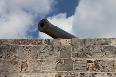 Cannon at Fort Montagu Stock Images