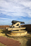 Cannon in Fort Pulaski Stock Images