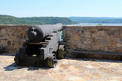 Cannon at Fort Ticonderoga Stock Photos