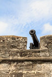Cannon of a fortress Stock Photo