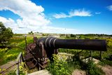 Cannon at   fortress Royalty Free Stock Photography