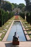 Cannon in the Garden of Darya Daulat Stock Photography