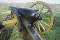 Cannon at Gettysburg, PA National Park Royalty Free Stock Photo