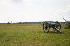 cannon gettysburg view Στοκ Εικόνες