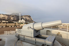 Cannon in Gibraltar Royalty Free Stock Photos