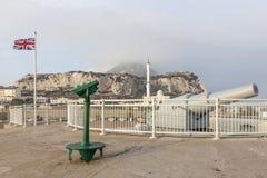 Cannon in Gibraltar Royalty Free Stock Photos
