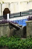 Cannon in Granada Nicaragua Royalty Free Stock Images