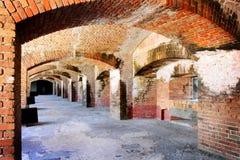 Cannon Gun Bunkers Royalty Free Stock Photos