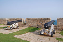 Cannon guns Stock Photography