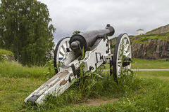 Cannon in Halden Stock Photo