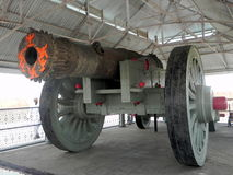 Cannon. India's biggest cannon Jaivana  in Jaigarh Fort Stock Images