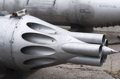 Cannon of jet Royalty Free Stock Photography