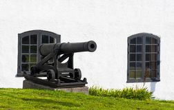 Cannon in Karlskrona Royalty Free Stock Photos