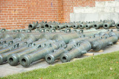 Cannon in Kremlin, Moscow Royalty Free Stock Image