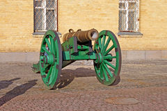 Cannon in the Kyiv fortress Royalty Free Stock Photography