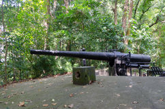 Cannon at Labrador Park Royalty Free Stock Photography