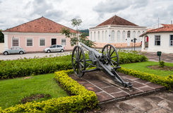 Cannon at Lapa Parana Brazil Royalty Free Stock Images