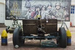 Cannon Militar Museum Royalty Free Stock Images