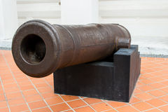 Cannon model Royalty Free Stock Images