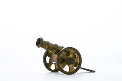 Cannon model. An ancient weapon Royalty Free Stock Photography