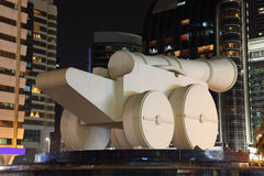 Cannon Monument in Abu Dhabi Royalty Free Stock Photos