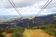 Cannon Mountain, Franconia Notch, White Mountian Stock Photos