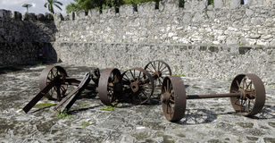 Cannon mounts Royalty Free Stock Photos