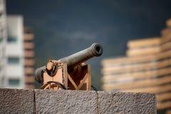 Cannon near Royal Palace of Monaco Stock Photo
